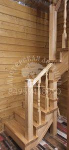 Сосна+Лиственница лестница Кубинка