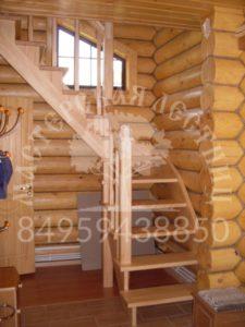 лестница из сосны бородино